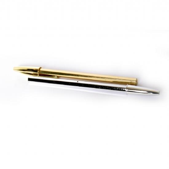Bic Cristal Medium - SPECIAL EDITION Penna Dorata Oro e Argentata Argento - Penna  a sfera. ‹ › 31ae990c36c0